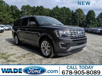 2019 Magnetic Metallic Ford Expedition Max Limited Automatic Twin Turbo Premium Unleaded V-6 3.5 L/213 Engine 4 Door