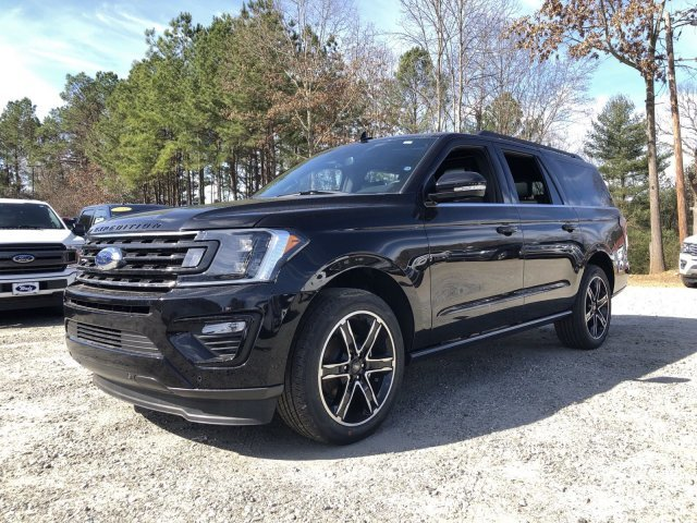 2019 Agate Black Metallic Ford Expedition Max Limited SUV Automatic RWD