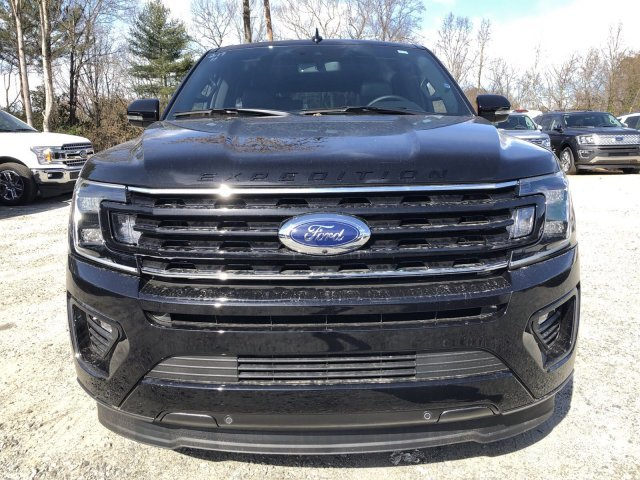 2019 Agate Black Metallic Ford Expedition Max Limited SUV Twin Turbo Premium Unleaded V-6 3.5 L/213 Engine RWD Automatic 4 Door