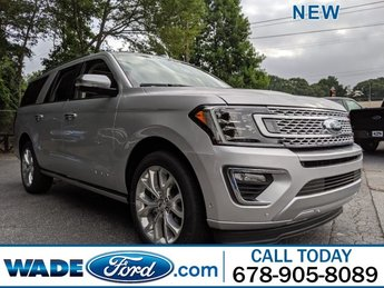 2019 Ingot Silver Metallic Ford Expedition Max Platinum SUV RWD Twin Turbo Premium Unleaded V-6 3.5 L/213 Engine