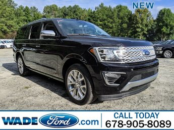 2019 Ford Expedition Max Platinum 4 Door Twin Turbo Premium Unleaded V-6 3.5 L/213 Engine SUV