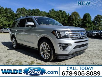 2019 Ingot Silver Metallic Ford Expedition Limited RWD SUV 4 Door