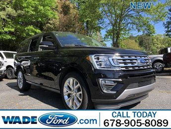 2019 Agate Black Metallic Ford Expedition Limited Automatic Twin Turbo Premium Unleaded V-6 3.5 L/213 Engine 4 Door SUV