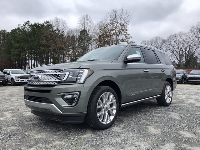 2019 Ford Expedition Platinum Automatic SUV RWD Twin Turbo Premium Unleaded V-6 3.5 L/213 Engine