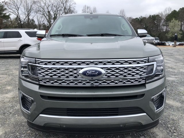 2019 Silver Spruce Metallic Ford Expedition Platinum Twin Turbo Premium Unleaded V-6 3.5 L/213 Engine Automatic 4 Door RWD