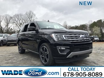 2019 Agate Black Metallic Ford Expedition Limited Automatic 4X4 SUV Twin Turbo Premium Unleaded V-6 3.5 L/213 Engine 4 Door