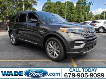 2020 Magnetic Metallic Ford Explorer Limited Intercooled Turbo Regular Unleaded I-4 2.3 L/140 Engine Automatic FWD SUV