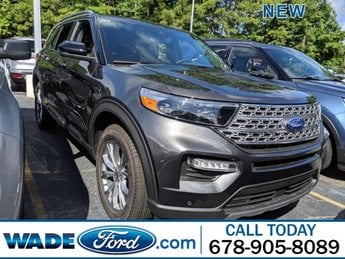 2020 Ford Explorer Limited AWD 4 Door SUV Intercooled Turbo Regular Unleaded I-4 2.3 L/140 Engine Automatic