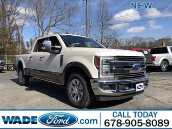 2019 Ford Super Duty F-250 SRW King Ranch Truck Automatic Intercooled Turbo Diesel V-8 6.7 L/406 Engine 4 Door RWD