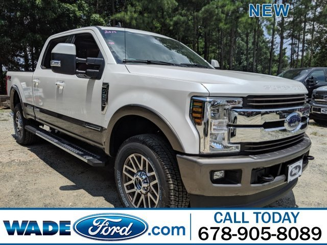 2019 Ford Super Duty F-250 SRW King Ranch Automatic Intercooled Turbo Diesel V-8 6.7 L/406 Engine 4 Door