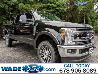 2019 Agate Black Metallic Ford Super Duty F-350 SRW LARIAT Automatic 4 Door 4X4