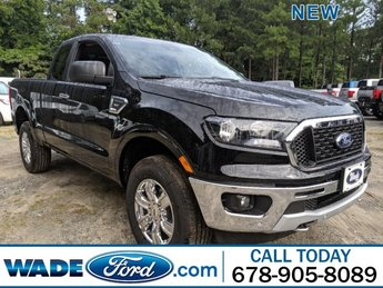 2019 Ford Ranger XLT Intercooled Turbo Regular Unleaded I-4 2.3 L/140 Engine Automatic Truck 4 Door RWD