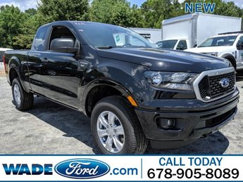 2019 Shadow Black Ford Ranger XLT Truck Intercooled Turbo Regular Unleaded I-4 2.3 L/140 Engine RWD Automatic 4 Door