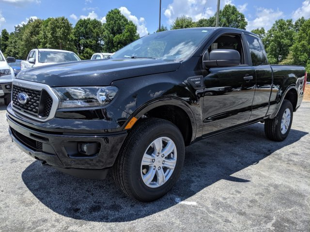 2019 Shadow Black Ford Ranger XLT RWD Truck Intercooled Turbo Regular Unleaded I-4 2.3 L/140 Engine 4 Door Automatic