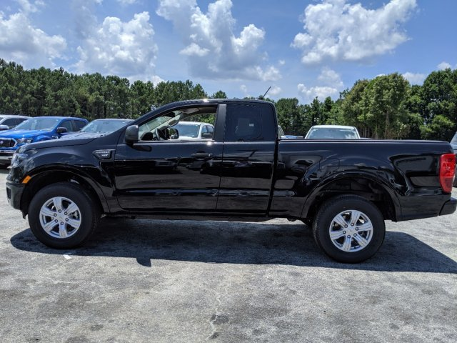 2019 Shadow Black Ford Ranger XLT Truck Intercooled Turbo Regular Unleaded I-4 2.3 L/140 Engine RWD