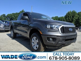 2019 Magnetic Metallic Ford Ranger XLT 4X4 Intercooled Turbo Regular Unleaded I-4 2.3 L/140 Engine 4 Door
