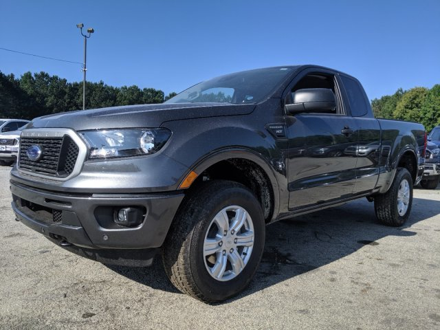 2019 Ford Ranger XLT 4 Door Truck Intercooled Turbo Regular Unleaded I-4 2.3 L/140 Engine Automatic 4X4