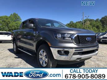 2019 Ford Ranger XLT 4 Door Intercooled Turbo Regular Unleaded I-4 2.3 L/140 Engine Automatic RWD Truck