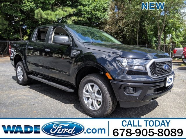 2019 Shadow Black Ford Ranger XLT Automatic Intercooled Turbo Regular Unleaded I-4 2.3 L/140 Engine 4 Door RWD