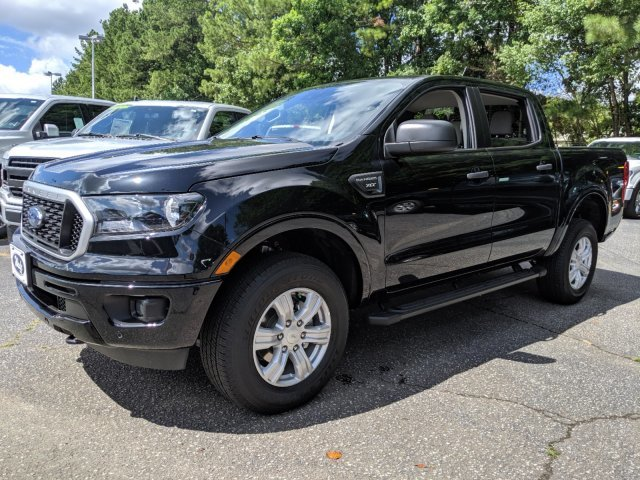 2019 Shadow Black Ford Ranger XLT Intercooled Turbo Regular Unleaded I-4 2.3 L/140 Engine Automatic 4 Door RWD