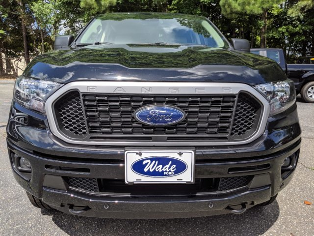 2019 Shadow Black Ford Ranger XLT Truck Automatic 4 Door RWD
