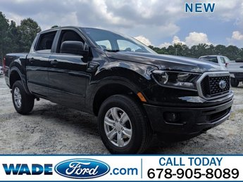 2019 Shadow Black Ford Ranger XLT RWD 4 Door Truck Automatic Intercooled Turbo Regular Unleaded I-4 2.3 L/140 Engine