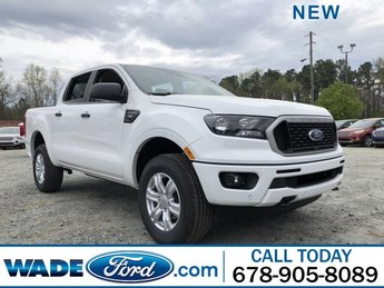 2019 Oxford White Ford Ranger XLT Automatic Intercooled Turbo Regular Unleaded I-4 2.3 L/140 Engine 4 Door RWD