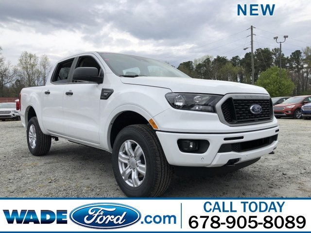 2019 Oxford White Ford Ranger XLT RWD Automatic Intercooled Turbo Regular Unleaded I-4 2.3 L/140 Engine 4 Door Truck