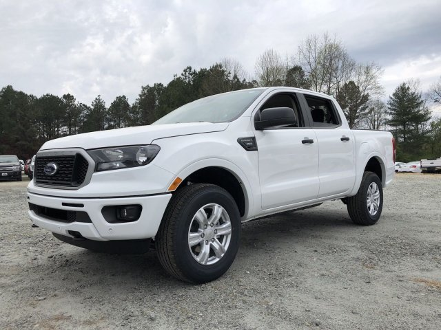 2019 Oxford White Ford Ranger XLT 4 Door Truck Intercooled Turbo Regular Unleaded I-4 2.3 L/140 Engine RWD Automatic