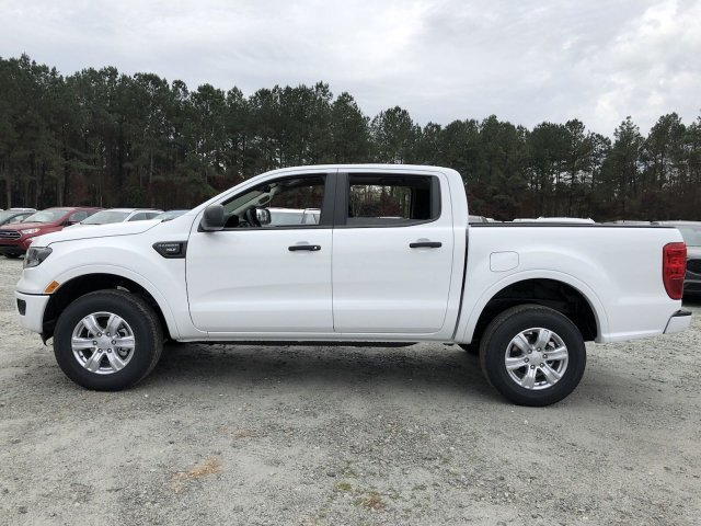 2019 Oxford White Ford Ranger XLT 4 Door Truck Intercooled Turbo Regular Unleaded I-4 2.3 L/140 Engine