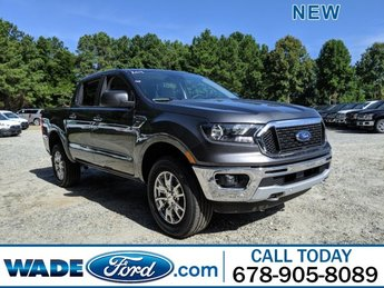 2019 Magnetic Metallic Ford Ranger XLT Automatic Intercooled Turbo Regular Unleaded I-4 2.3 L/140 Engine RWD Truck 4 Door