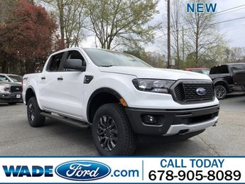 2019 Oxford White Ford Ranger XLT 4 Door Truck 4X4 Intercooled Turbo Regular Unleaded I-4 2.3 L/140 Engine