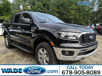 2019 Ford Ranger XLT 4X4 Intercooled Turbo Regular Unleaded I-4 2.3 L/140 Engine Automatic Truck