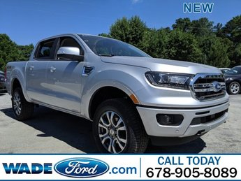 2019 Ford Ranger LARIAT Automatic Intercooled Turbo Regular Unleaded I-4 2.3 L/140 Engine Truck 4X4