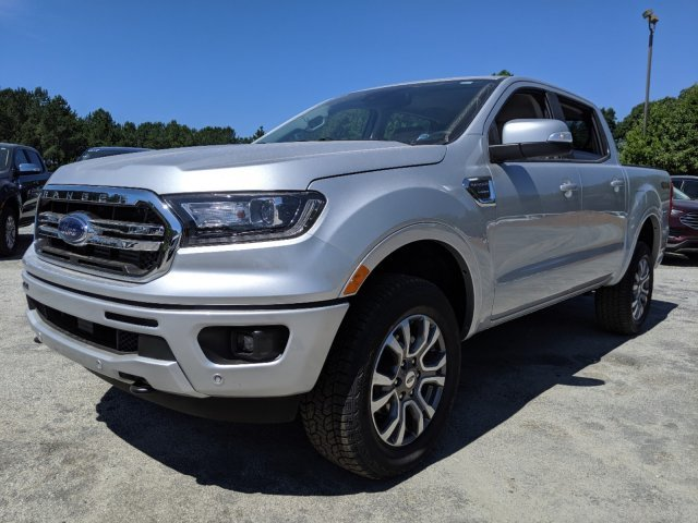 2019 Ford Ranger LARIAT Automatic Intercooled Turbo Regular Unleaded I-4 2.3 L/140 Engine Truck 4X4 4 Door