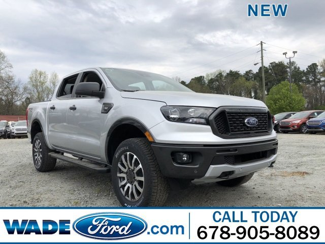 2019 Ford Ranger XLT Truck 4X4 Automatic Intercooled Turbo Regular Unleaded I-4 2.3 L/140 Engine 4 Door