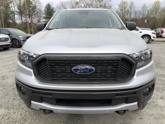 2019 Ingot Silver Metallic Ford Ranger XLT 4 Door Intercooled Turbo Regular Unleaded I-4 2.3 L/140 Engine 4X4