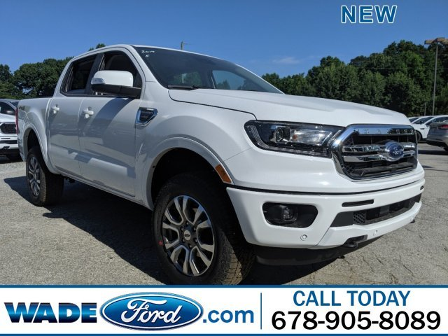 2019 Oxford White Ford Ranger LARIAT Automatic 4 Door Intercooled Turbo Regular Unleaded I-4 2.3 L/140 Engine Truck