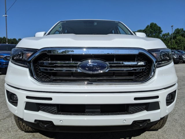 2019 Oxford White Ford Ranger LARIAT Intercooled Turbo Regular Unleaded I-4 2.3 L/140 Engine Truck 4 Door Automatic 4X4