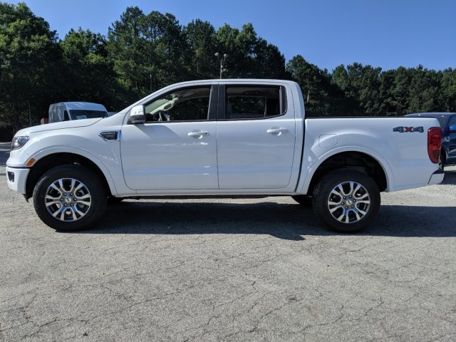 2019 Oxford White Ford Ranger LARIAT Automatic Intercooled Turbo Regular Unleaded I-4 2.3 L/140 Engine Truck 4 Door