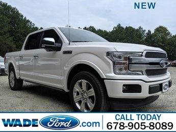 2019 Ford F-150 Platinum 4 Door Twin Turbo Regular Unleaded V-6 3.5 L/213 Engine RWD