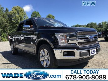 2019 Agate Black Metallic Ford F-150 King Ranch 4 Door RWD Automatic Regular Unleaded V-8 5.0 L/302 Engine