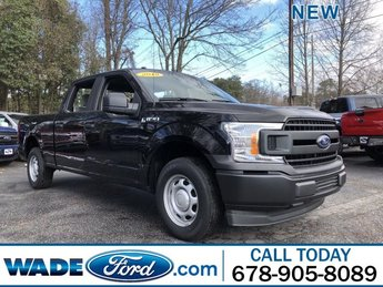 2018 Shadow Black Ford F-150 XL Truck Automatic 4 Door