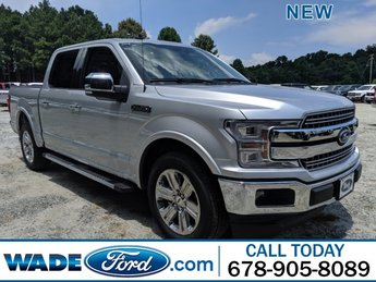 2019 Ingot Silver Metallic Ford F-150 LARIAT Truck 4 Door RWD Automatic Regular Unleaded V-8 5.0 L/302 Engine