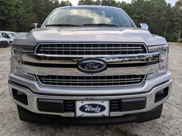 2019 Ingot Silver Metallic Ford F-150 LARIAT RWD Automatic Regular Unleaded V-8 5.0 L/302 Engine 4 Door