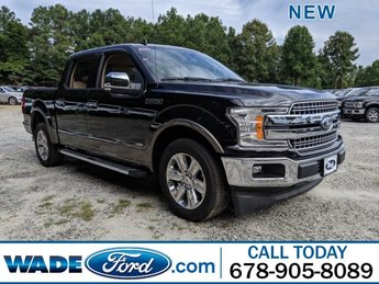 2019 Ford F-150 LARIAT Truck RWD 4 Door Regular Unleaded V-8 5.0 L/302 Engine