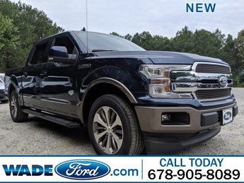 2019 Ford F-150 King Ranch Regular Unleaded V-8 5.0 L/302 Engine Automatic Truck
