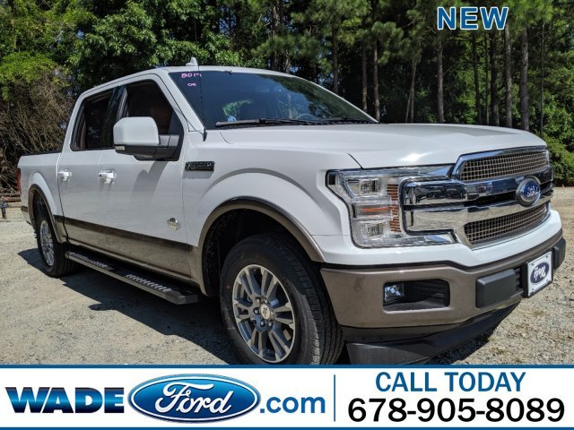 2019 Oxford White Ford F-150 King Ranch Regular Unleaded V-8 5.0 L/302 Engine 4 Door Truck Automatic