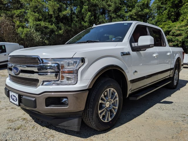 2019 Oxford White Ford F-150 King Ranch 4 Door RWD Truck