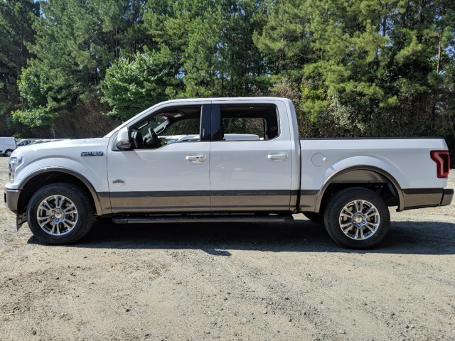 2019 Oxford White Ford F-150 King Ranch Regular Unleaded V-8 5.0 L/302 Engine RWD Automatic Truck 4 Door